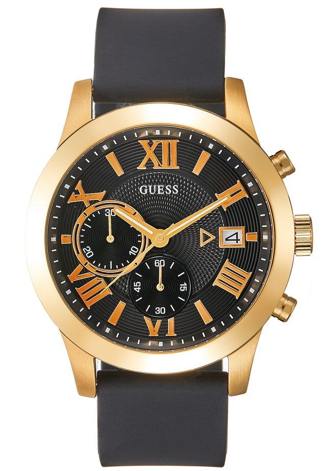 MENS DRESS - Zegarek chronograficzny - black/gold