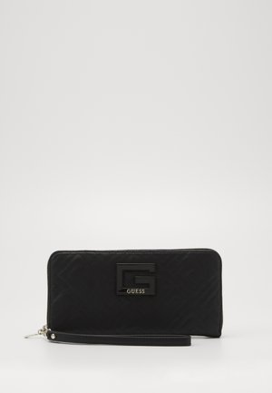 JANAY LARGE ZIP AROUND - Lommebok - black