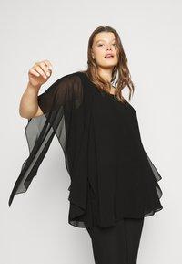 Persona by Marina Rinaldi - FILO - Blouse - black - 4