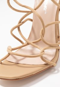 Public Desire - SAVY - High heeled sandals - nude - 2