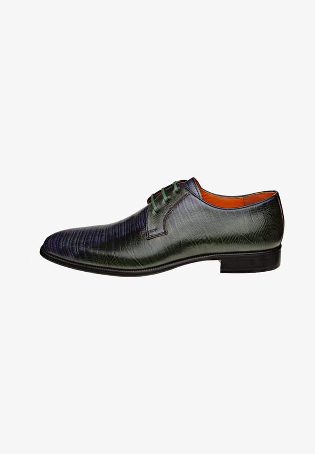DI STABIA - Veterschoenen - dark blue