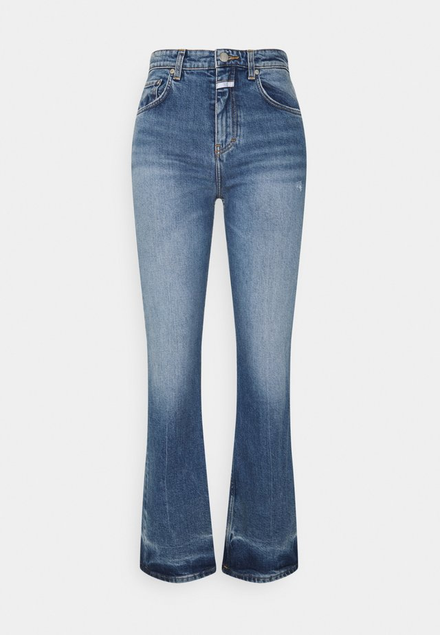BAYLIN - Flared Jeans - mid blue
