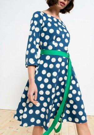 Sukienka letnia - niebieska