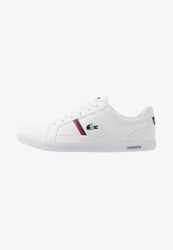EUROPA - Sneakers laag - white/navy/red