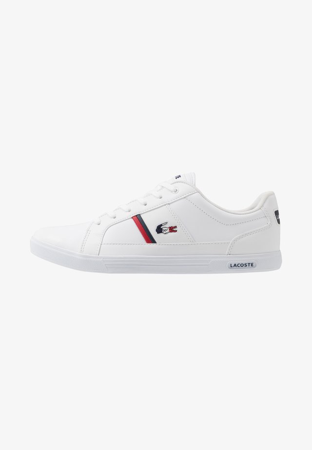 EUROPA - Matalavartiset tennarit - white/navy/red
