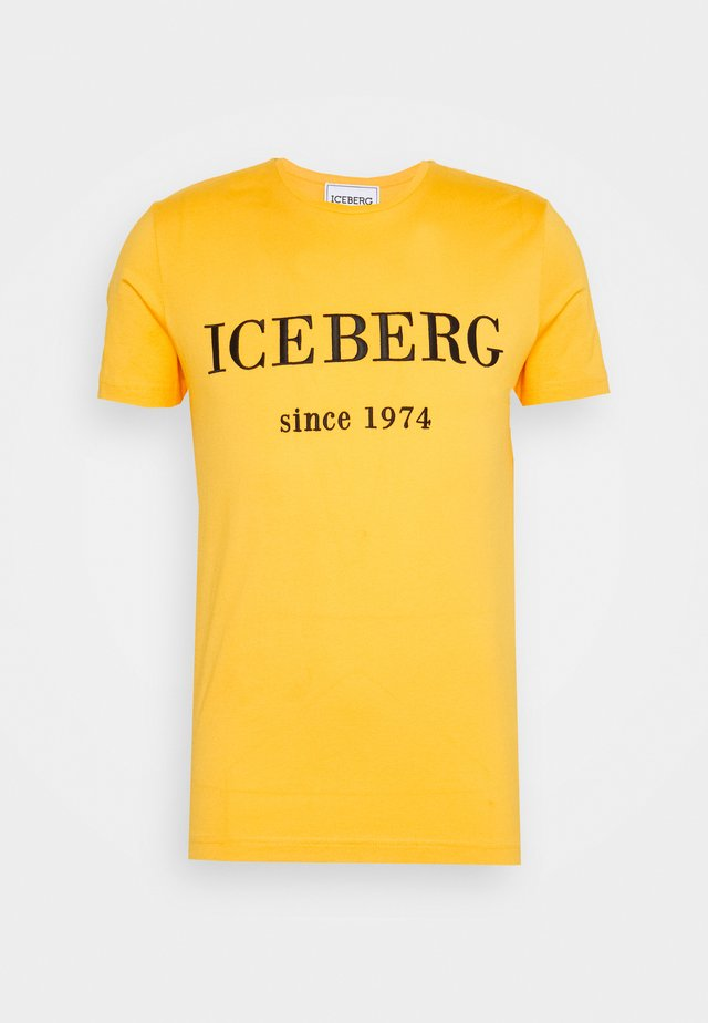 T-shirt print - giallo