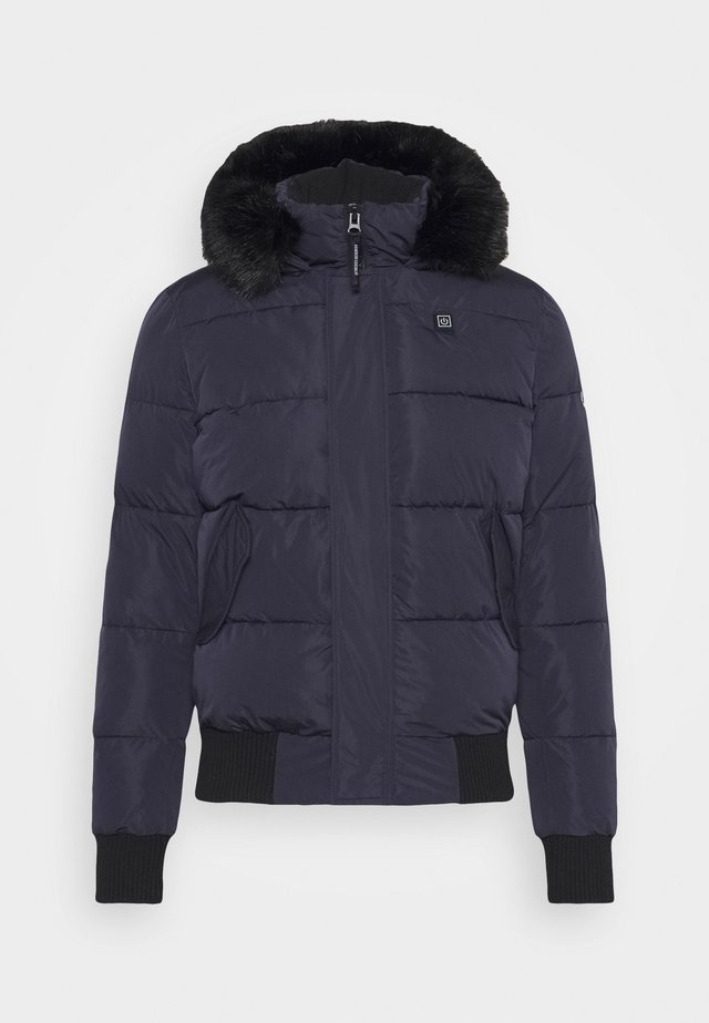 PARKA - Winter jacket - navy/black