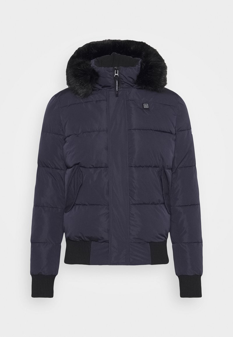 Maison Courch - PARKA - Winter jacket - navy/black