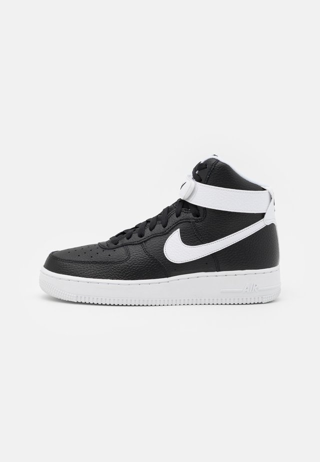AIR FORCE 1 HIGH '07  - Sneakersy wysokie - black/white