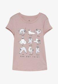 GAP - GIRL - Print T-shirt - pink standard - 2