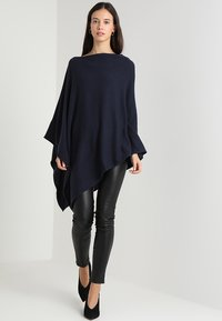 Part Two - KRISTANNA - Cape - navy blazer - 1