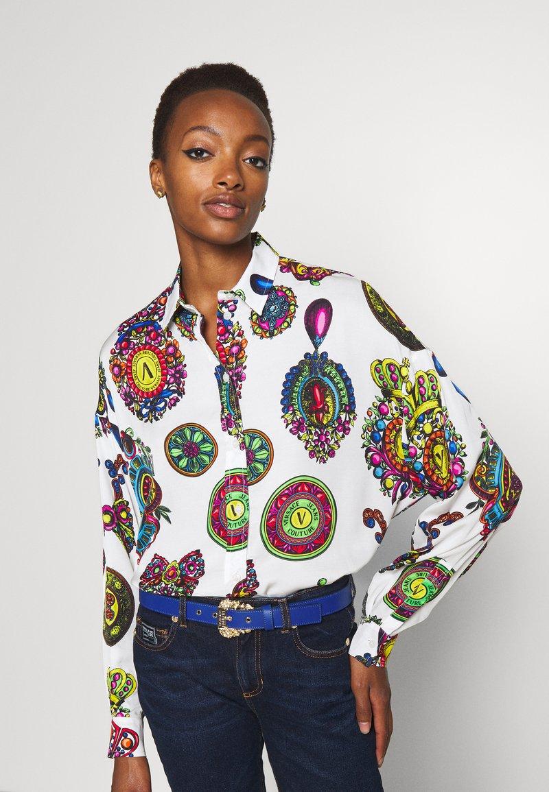 Versace Jeans Couture - VITELLO BELTS - Riem - midnight