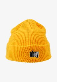 Obey Clothing - JUNGLE BEANIE - Lue - golden palm - 4