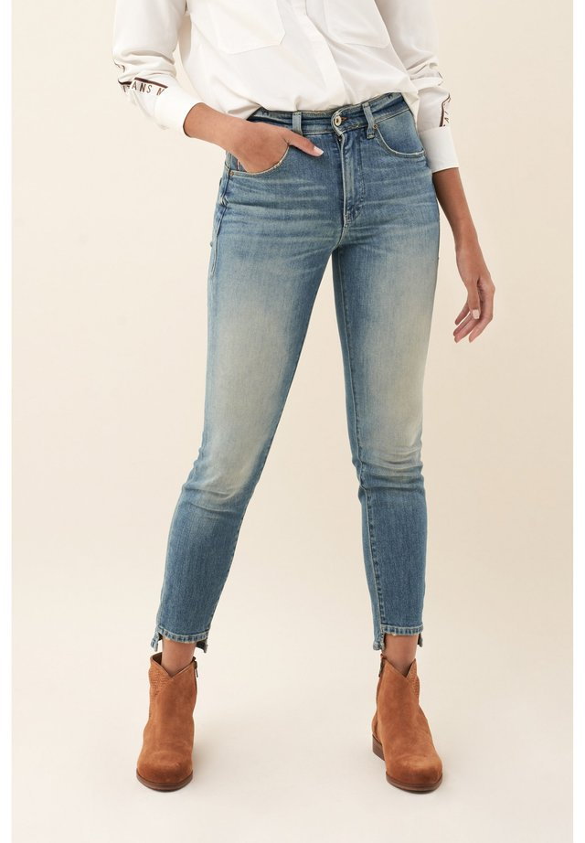 SECRET GLAMOUR PUSH IN - Jeans Skinny Fit - blue