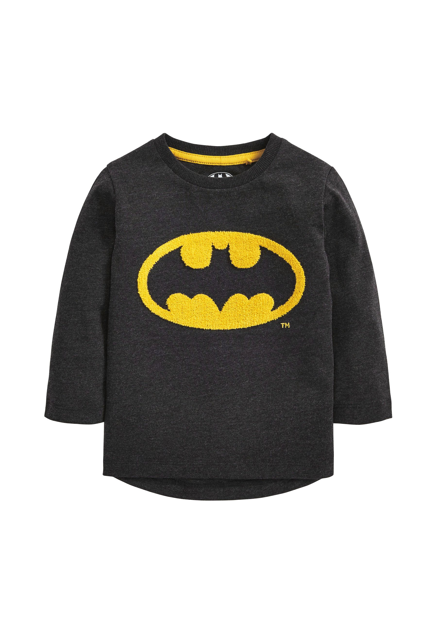 Kinder BATMAN LOGO JERSEY LONG SLEEVE T-SHIRT - Langarmshirt