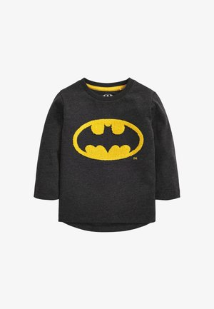 BATMAN LOGO JERSEY LONG SLEEVE T-SHIRT - Long sleeved top - grey
