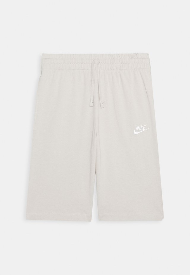 Tracksuit bottoms - light orewood brown/white