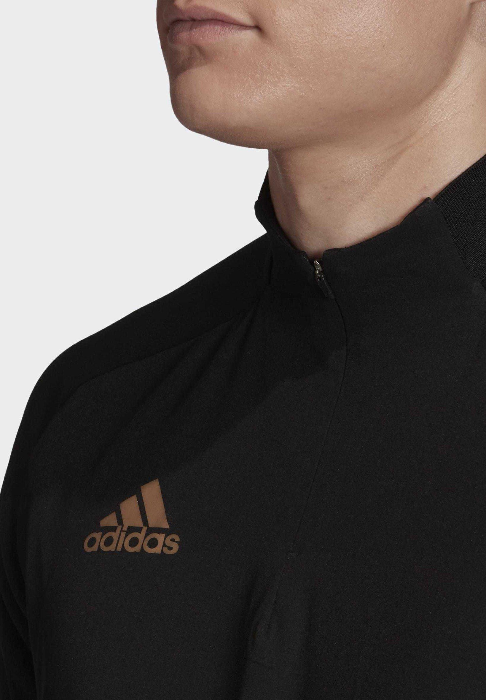 adidas Performance CONDIVO 20 ULTIMATE WARM TOP - Topper langermet - black