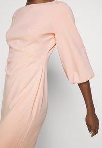 Lauren Ralph Lauren - LUXE DRESS - Žerzejové šaty - pink macaron - 4