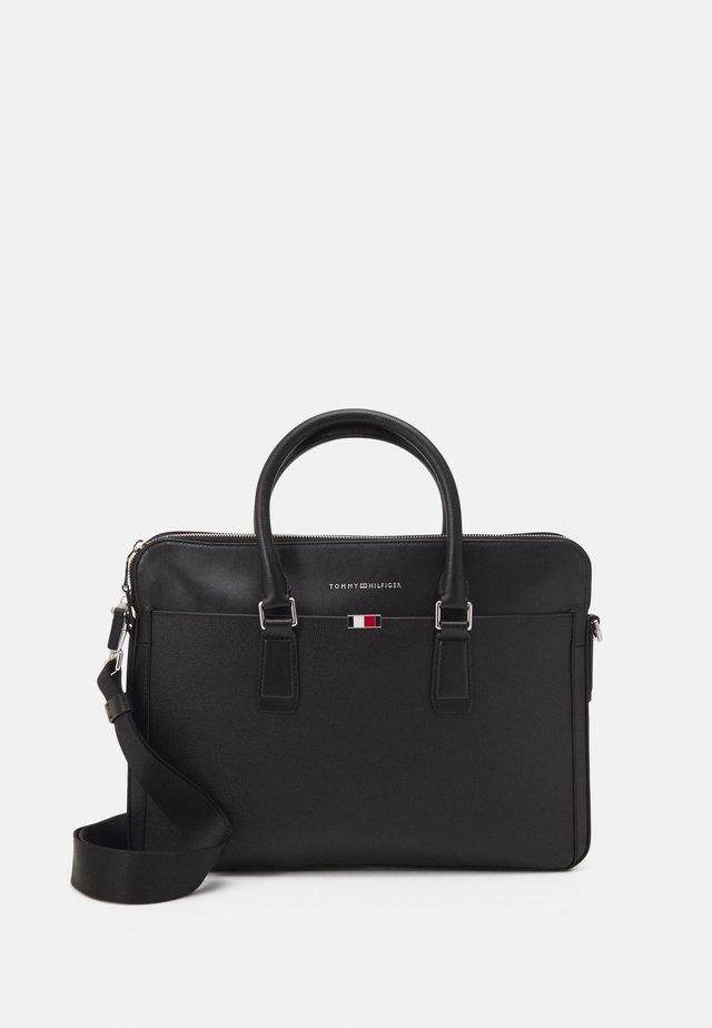 BUSINESS SLIM COMP BAG UNISEX - Briefcase - black