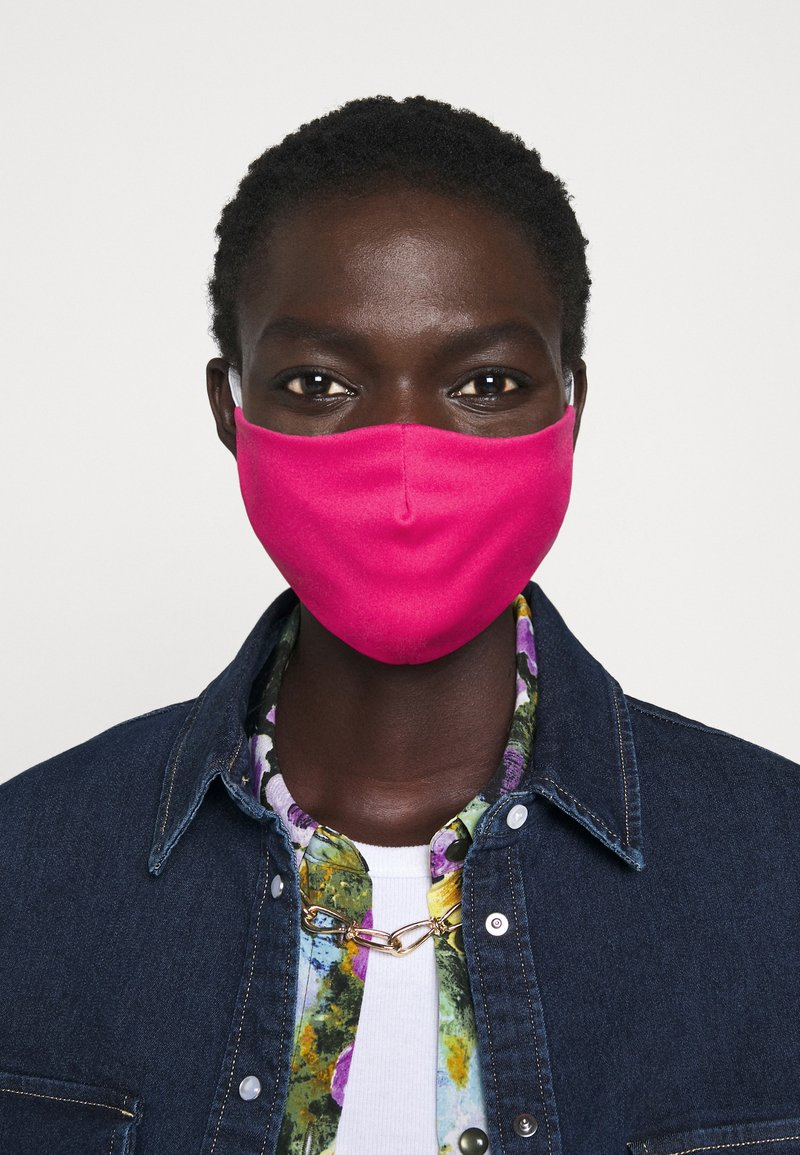 Even&Odd - 3 PACK - Community mask - petrol/red/pink
