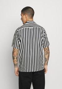 Denim Project - EL CUBA - Shirt - black/white - 2