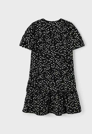 KLEID GEPUNKTET - Day dress - black