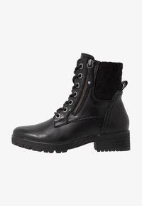 Jana - Šněrovací kotníkové boty - black - 1