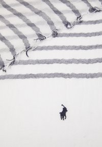 Polo Ralph Lauren - BLEND STRIPE - Šála - white/navy - 5