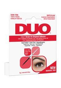 DUO - DUO 2-IN-1 BRUSH ON ADHESIVE - False eyelashes - clear/dark - 2