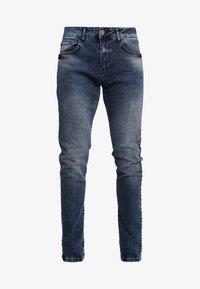 Pier One - Jeans slim fit - blue grey - 4