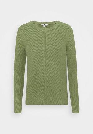 CREWNECK  - Jumper - calm green melange