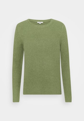 CREWNECK  - Jumper - calm green melange