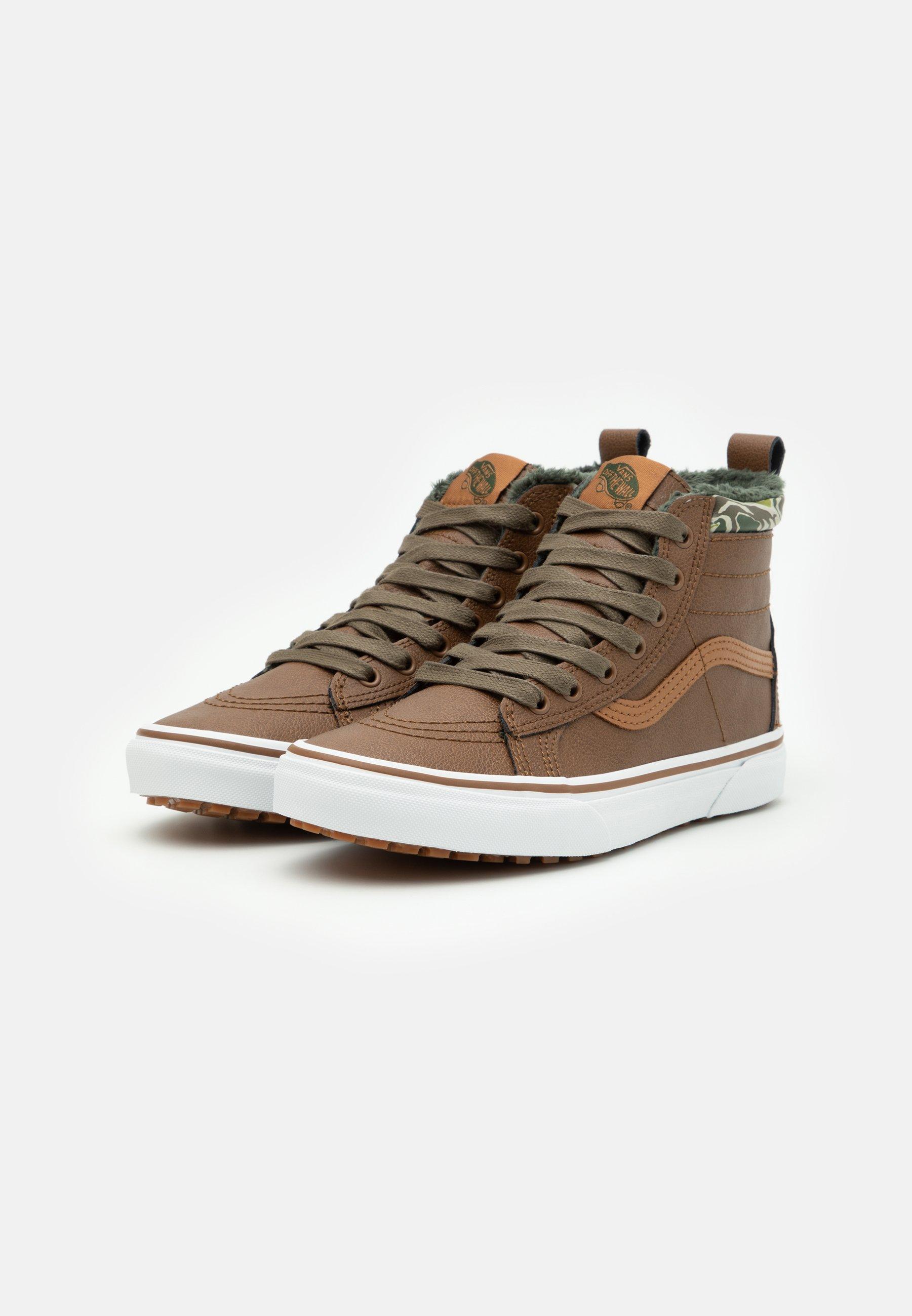 Vans SK8 MTE UNISEX - Sneakers alte - dachshund/sabbia - Zalando.it