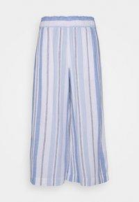 Marks & Spencer London - STRIPE CROP  - Bukse - blue - 0
