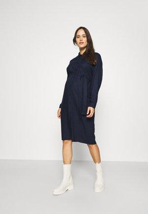 MLCENILLA LIA DRESS - Skjortekjole - navy blazer