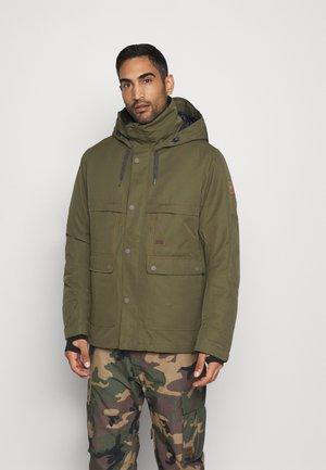 SHADOW - Snowboardová bunda - olive