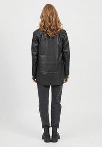 Object - Leather jacket - black - 2
