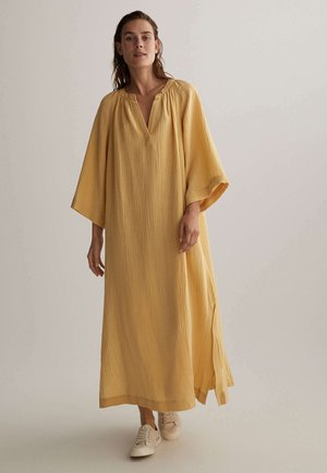 VOILE KAFTAN - Day dress - yellow
