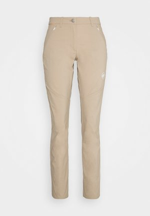 HIKING PANTS WOMEN - Outdoor trousers - safari
