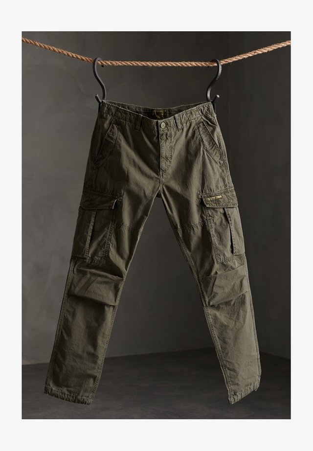 Cargo trousers - deep forest