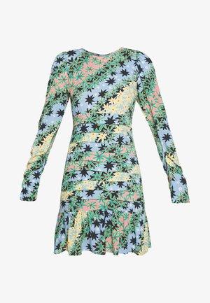 MONACO JOHANNA PRINT DRESS - Robe d'été - blue