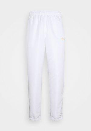 CARSON PANTS - Teplákové kalhoty - white/gold