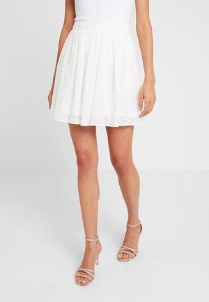 SONA - A-line skirt - white