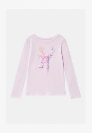 GIRL - Longsleeve - whitened lilac
