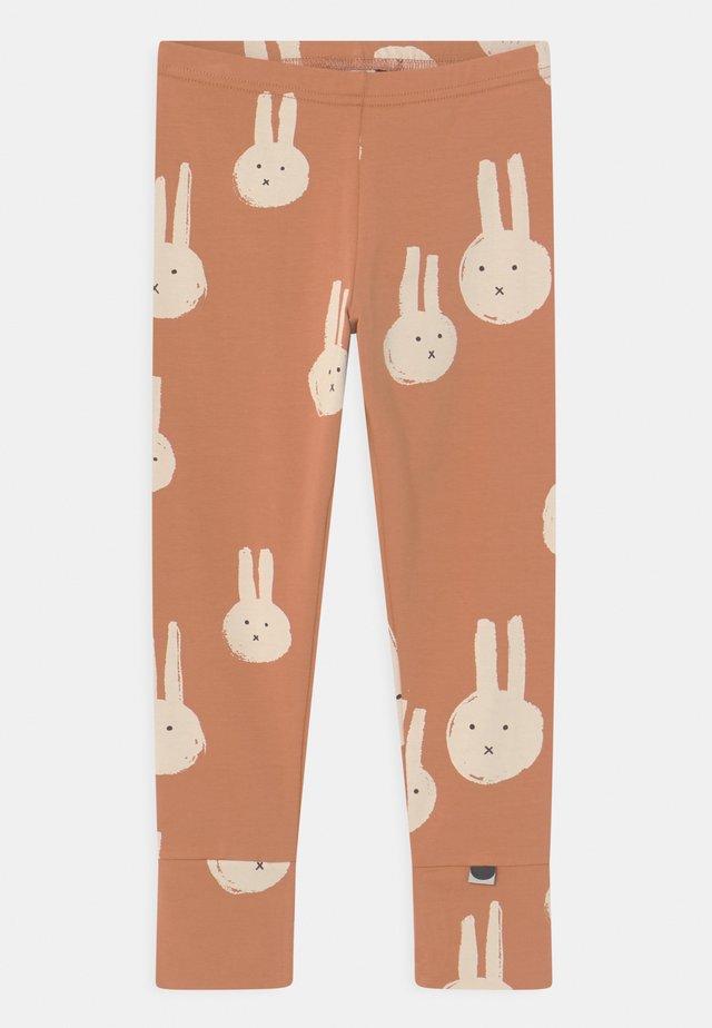 FOLD UNISEX - Leggings - Trousers - light brown