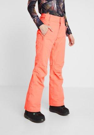 Snow pants - living coral