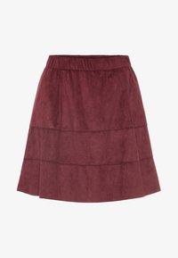 Noisy May - NMLAUREN  - A-line skirt - red - 4
