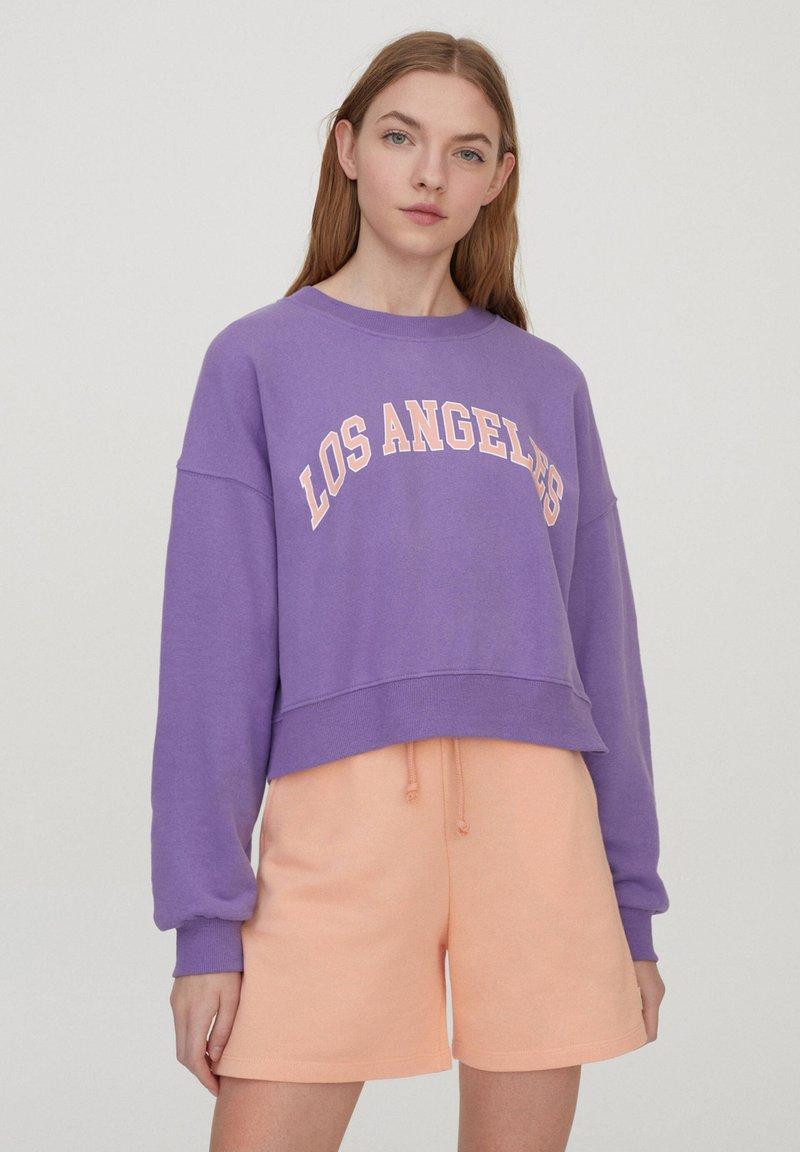 PULL&BEAR - Sweatshirt - purple