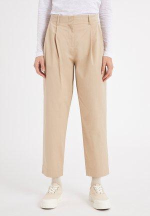 DULAA - Trousers - oat